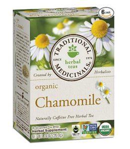 Traditional Medicinal Organic Chamomile Tea
