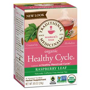 Traditional Medicinals Healthy Cycle Tea for Cramps