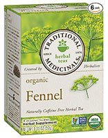 Traditional Medicinals Organic Fennel Tea for Bloating Relief