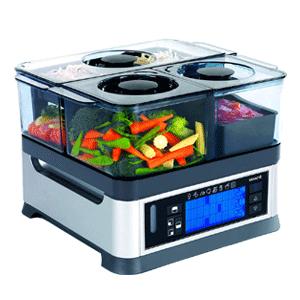Viante Intellisteam Counter Top Food Steamer
