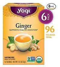 Yogi Ginger Tea for Bloating Relief