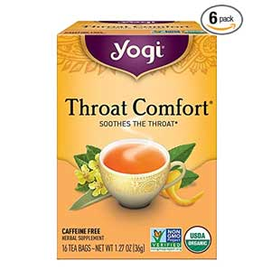 Yogi Teas Throat Comfort Tea