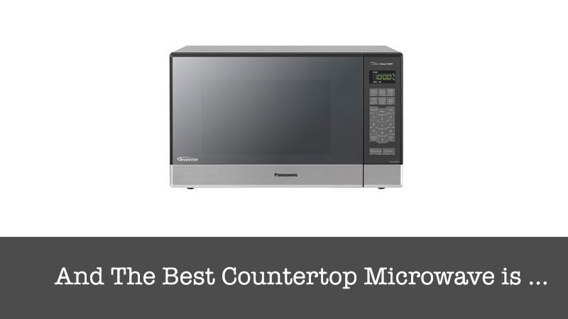 top Countertop Microwave