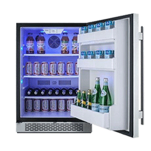 Avallon Built In 24 Inch Refrigerator
