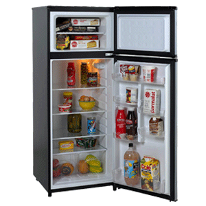 Avanti 2 Door Apartment Size Refrigerator