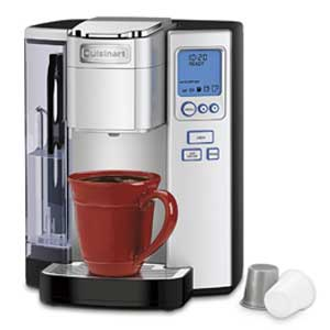 Cuisinart SS 10 Premium Single Cup Coffee Maker