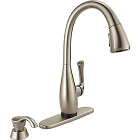 Delta Single Handle Touch Kitchen Faucet