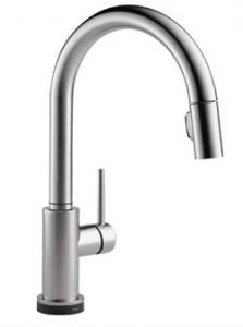 Delta Touch Technology Kitchen Faucet