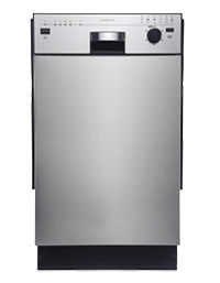 EdgeStar 18 Inch Built In Dishwasher
