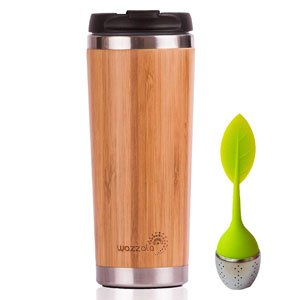 Elegant Bamboo Eco Travel Mug