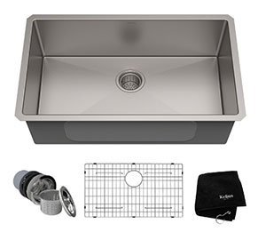 KRAUS 3o Inch Stainless Steel Kitchen Sink