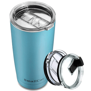 Smallcar Stainless Steel Tumbler Coffee Travel Mug