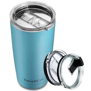 Smallcar Stainless Steel Tumbler Coffee Travel Mug