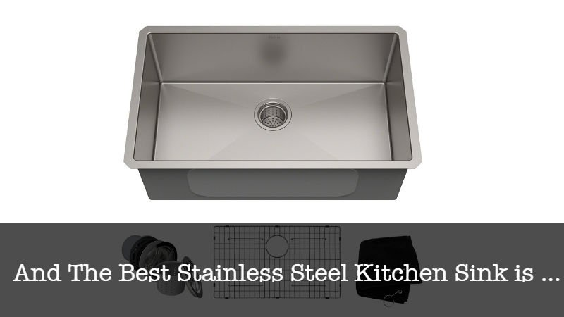 The Best Best Stainless Steel Kitchen Sink