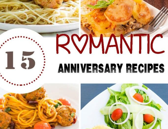 romantic recipes to celebrate a wedding anniversary
