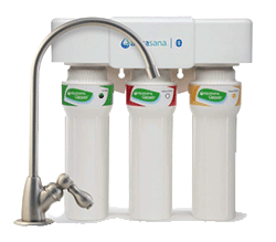 Aquasana 3 Stage Max Flow Under Sink Water Filter