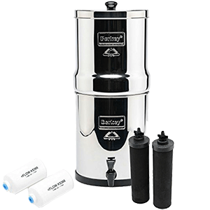 Big Berkey Countertop Water Filter