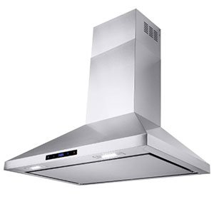 AKDY Wall Mount Ductless Range Hood