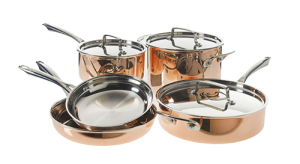 Cuisinart Tri-Ply Copper Cookware