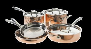 Cuisinart Tri-Ply Copper Cookware