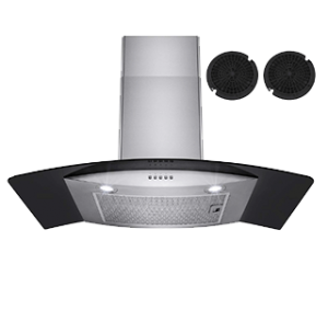 Firebird European Style Wall Mount Ductless Range Hood