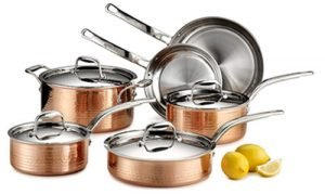 Lagostina Martellata Copper Cookware