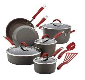 Rachael Ray Cucina Hard-Aluminum Nonstick Pots and Pans