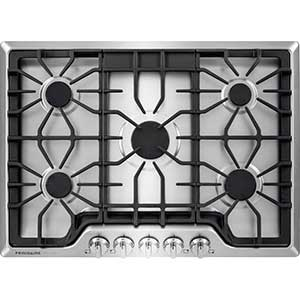 Frigidaire Gallery 30 inch Gas Cooktop in Stainless Steel