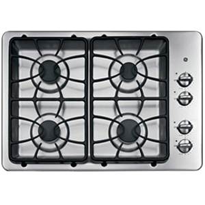 GE 30 Inch 4 Burner Built-In Gas Cooktop