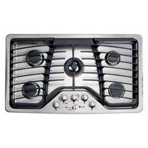 GE Profile 36-inch Gas Cooktop with 5 Sealed Burners