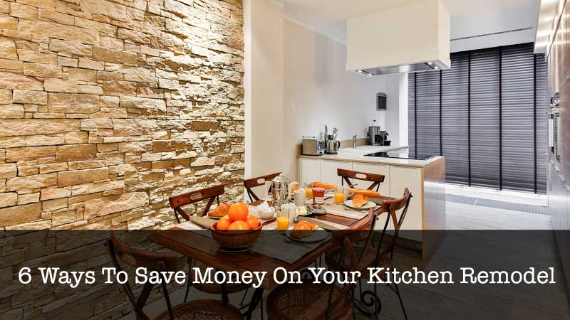 Save Money On Kitchen Remodel