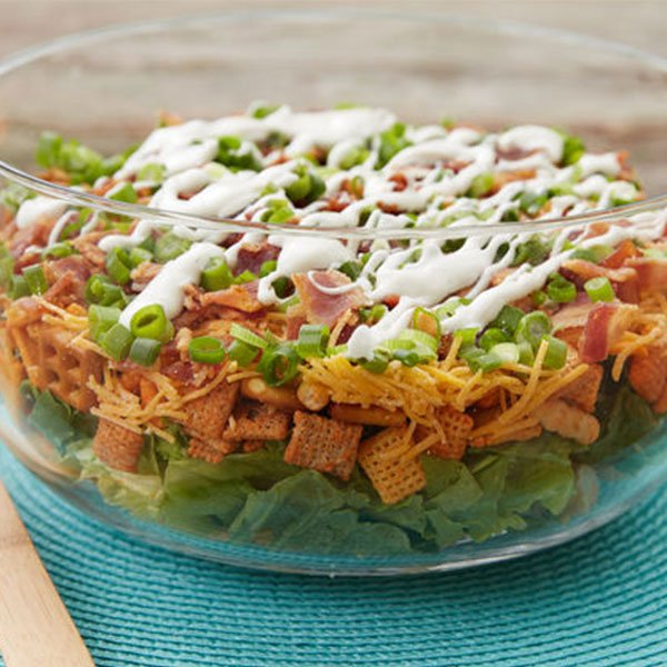 Keto Bacon Ranch Easy Chicken Salad