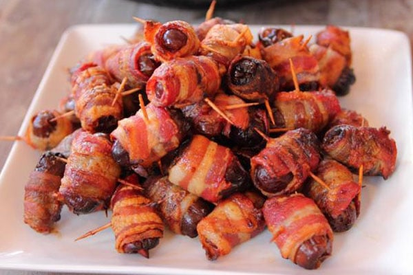 Baked Bacon Wrapped Chicken Tender