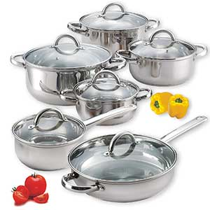 Best Budget Cook N Home Stainless Steel Cookware Set