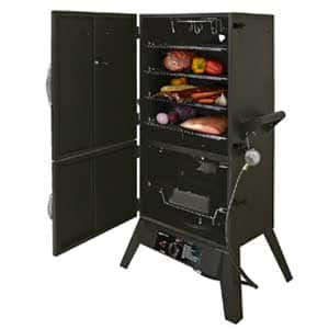 Best Propane Offset 2-Door Gas Smoker