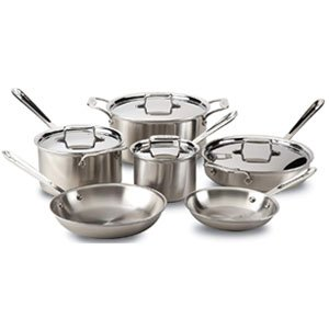 Best for induction All-Clad Stainless Steel Cookware