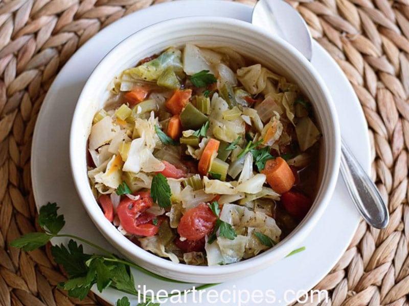 Cabbage Detox Soup