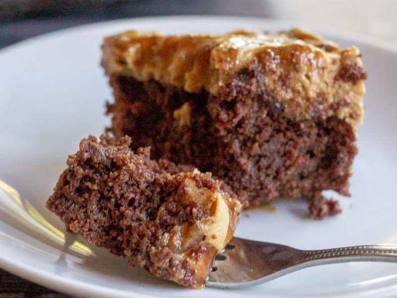 Caramel Macchito Brownies