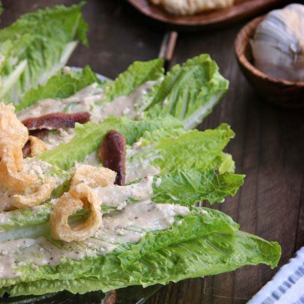 Keto Cesar Salad