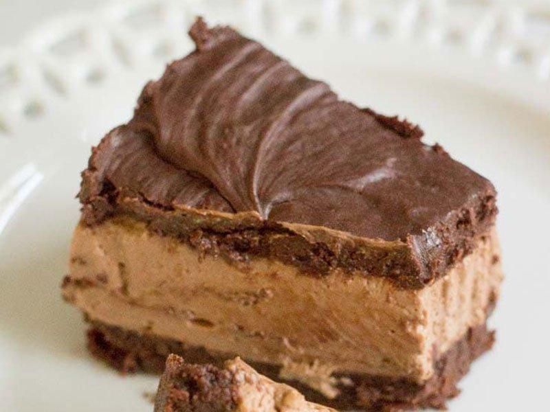 Chocolate Chessecake Brownies