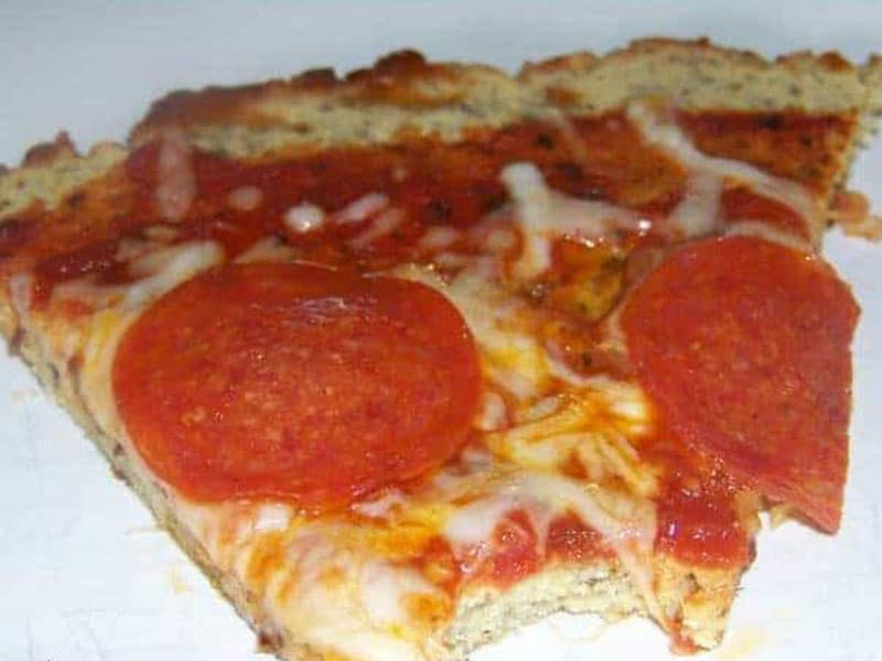 Coconut Flour Pizza Crust