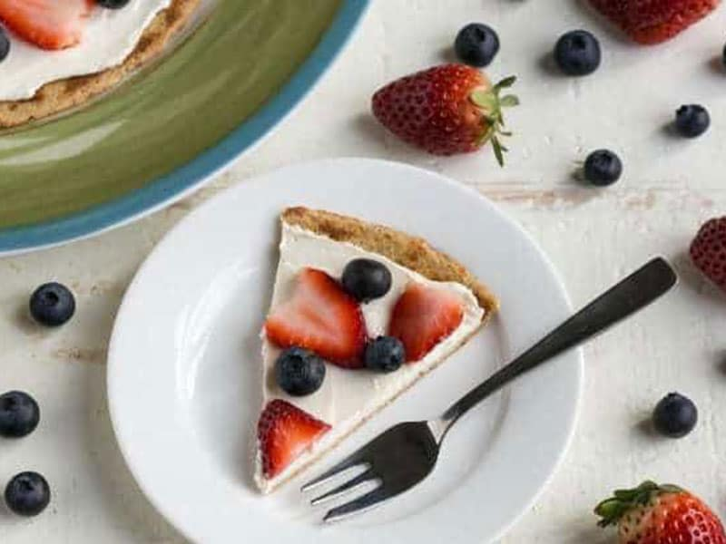 Cream Cheese Fruit Pizza Crust