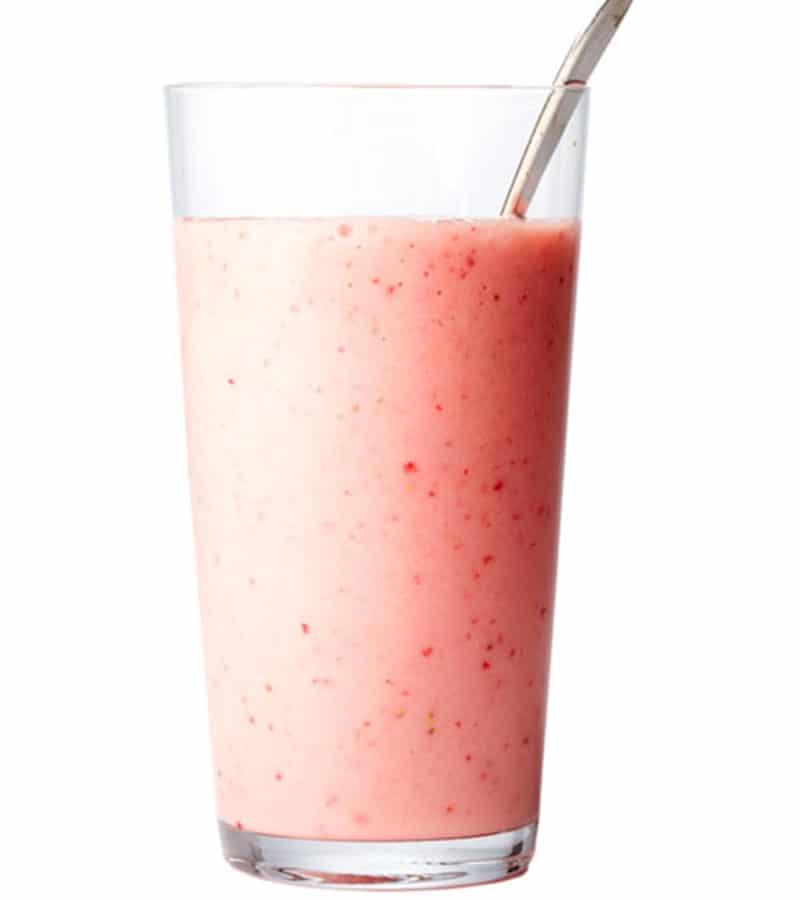 Creamy Strawberry Smoothies
