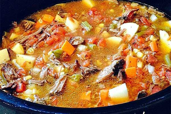 Crockpot Homemade Vegetable Soup