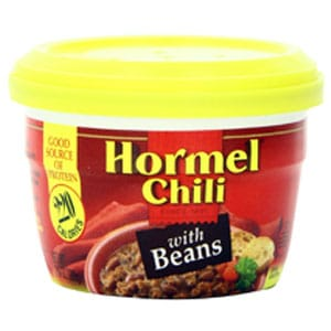 Hormel Micro Cup Canned Chili