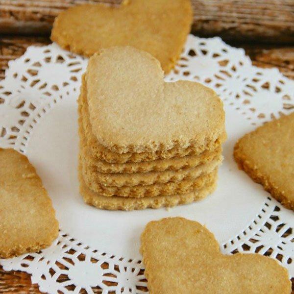 Keto Shortbread Cookies