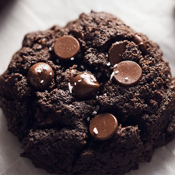 Keto Thick and Fudgy Brownie Cookies