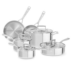 KitchenAid Best Tri-Ply Stainless Steel Cookware