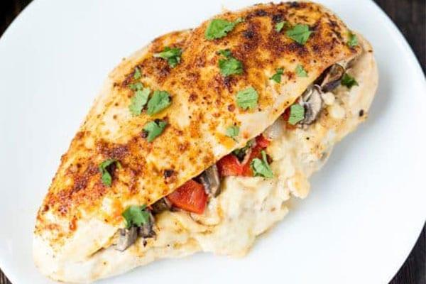 Lasanga Stuffed Chicken