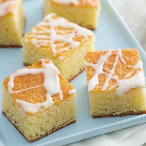 Lemon-Butter Pound Cake Bars